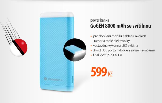 Power banka GoGEN 8000