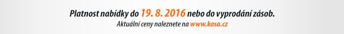 Platnost nabídky do 19. 8. 2016 nebo do vyprodání zásob.