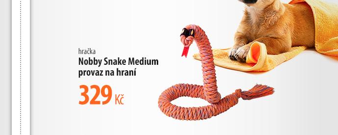 Hračka Nobby Snake Medium