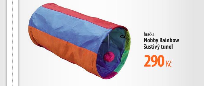Hračka Nobby Rainboww šustivý tunel
