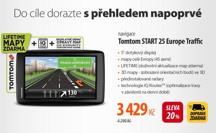 Navigace Tomtom START 25 Europe Traffic