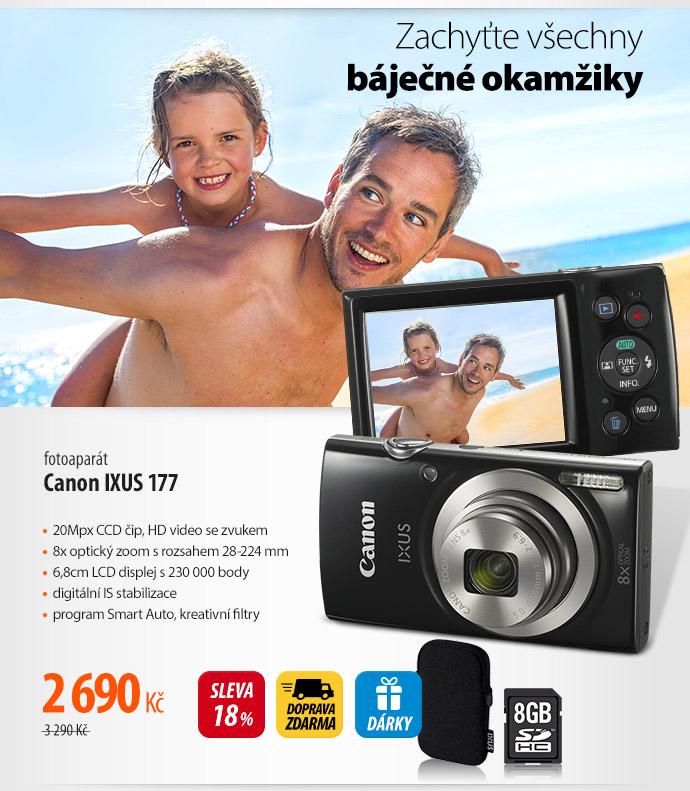Fotoaparát Canon Ixus 177