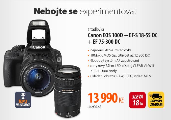 Zrcadlovka Canon E0S 100D