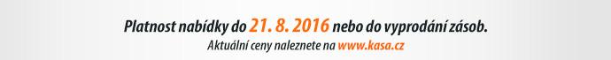 Platnost nabídky do 21. 8. 2016 nebo do vyprodání zásob.