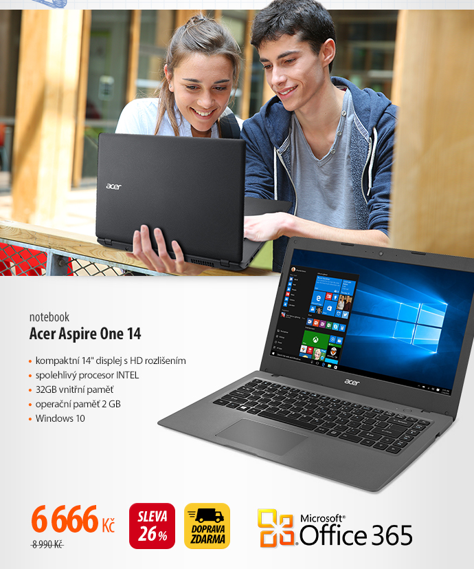 Notebook Acer Aspire One 14