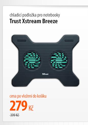 Chladící podložka pro notebooky Trust Xstream Breeze