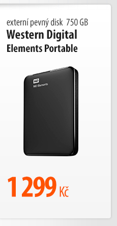 Externí pevný disk Western Digital Elements Portable