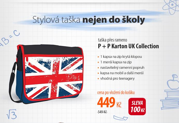 Taška přes rameno P + P Karton UK Collection