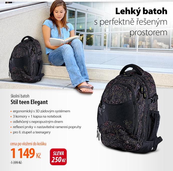 Školní batoh Stil teen Elegant