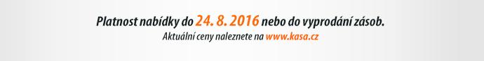 Platnost nabídky do 24. 8. 2016 nebo do vyprodání zásob.