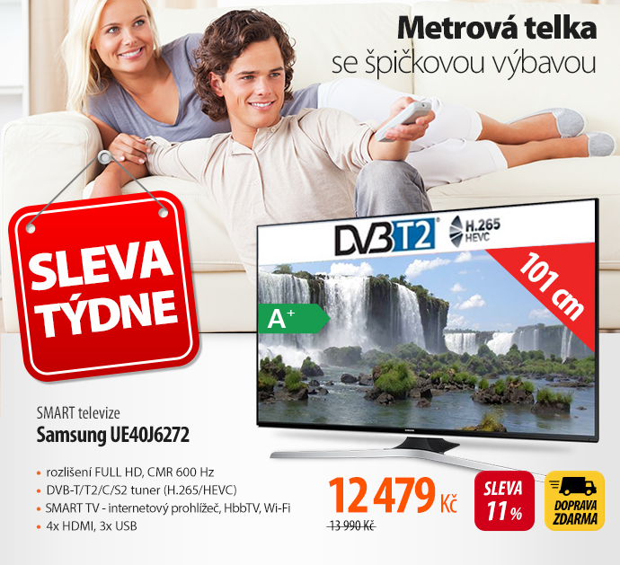 SMART televize Samsung UE40J6272