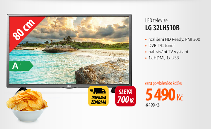 LED televize LG 32LH510B