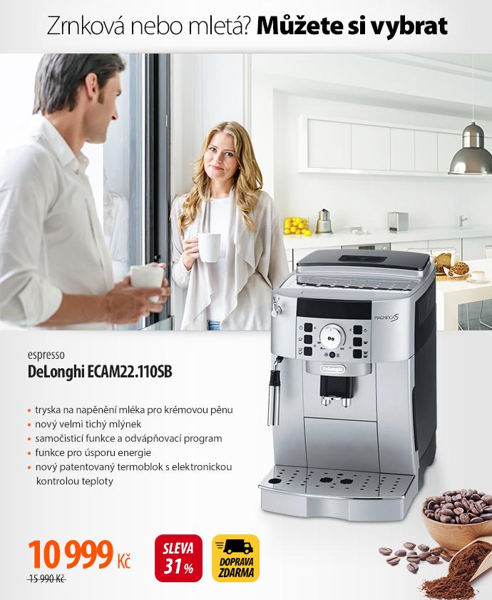 Espresso DeLonghi ECAM22.110SB