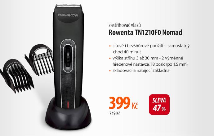 Zastřihovač vlasů Rowenta TN1210FO Nomad
