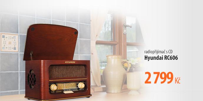 Radiopřijímač s CD Hyundai Retro RC606