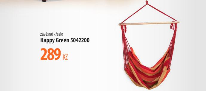 Závěsné křeslo Happy Green 5042200