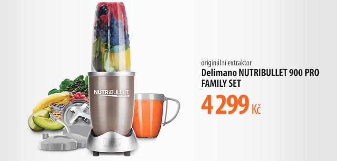Delimano NUTRIBULLET 900 PRO FAMILY SET
