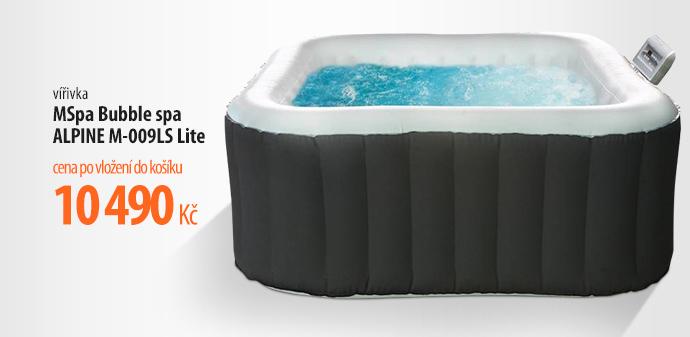 Bazén vířivý MSpa Bubble spa ALPINE M-009LS Lite