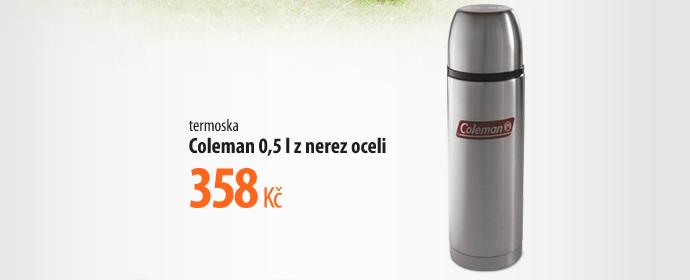Coleman 0,5l z nerez oceli