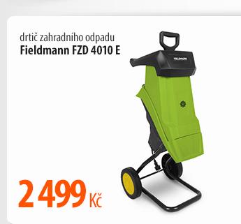 Drtič zahradního odpadu Fieldmann FDZ 4010 E