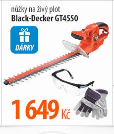 Nůžky na živý plot Black-Decker GT4550