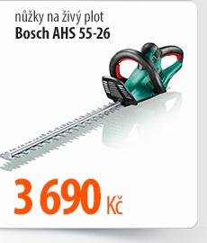 Nůžky na živý plot Bosch AHS 55-26