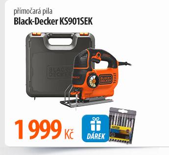 Přímočará pila Black-Decker KS901SEK
