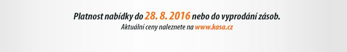 Platnost nabídky do 28. 8. 2016 nebo do vyprodání zásob.