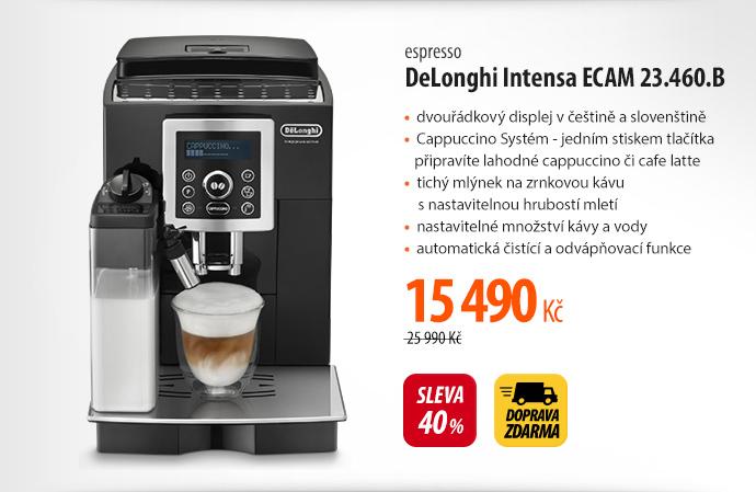 Espresso DeLonghi Intensa ECAM 23.460.B
