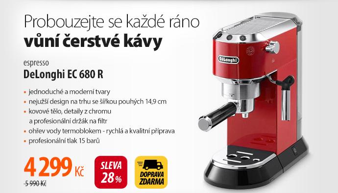 Espresso DeLonghi EC 680 R