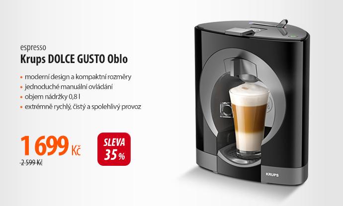 Espresso Krups DOLCE GUSTO Oblo