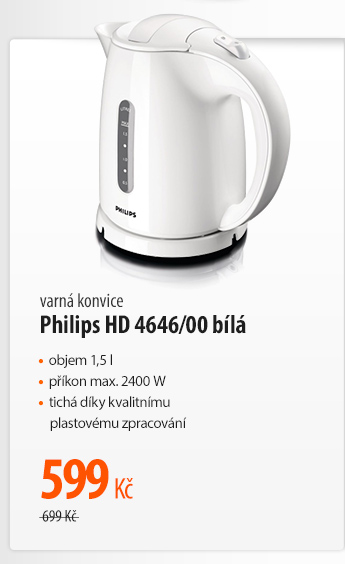 Varná konvice Philips HD 4646/00