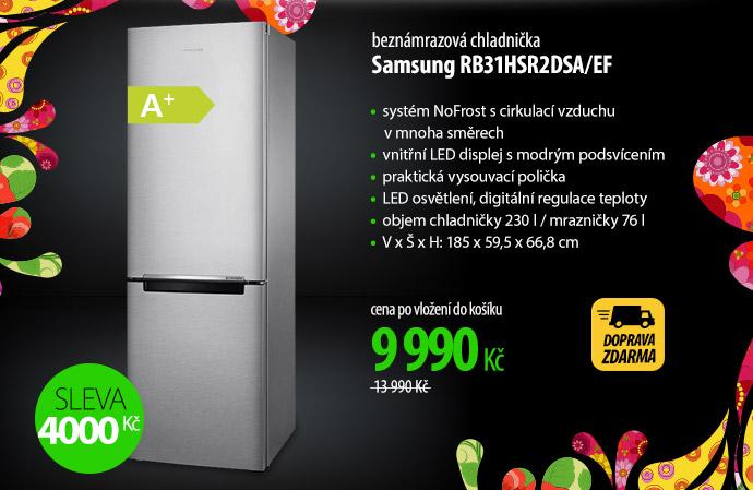 Lednička Samsung RB31HSR2DSA/EF