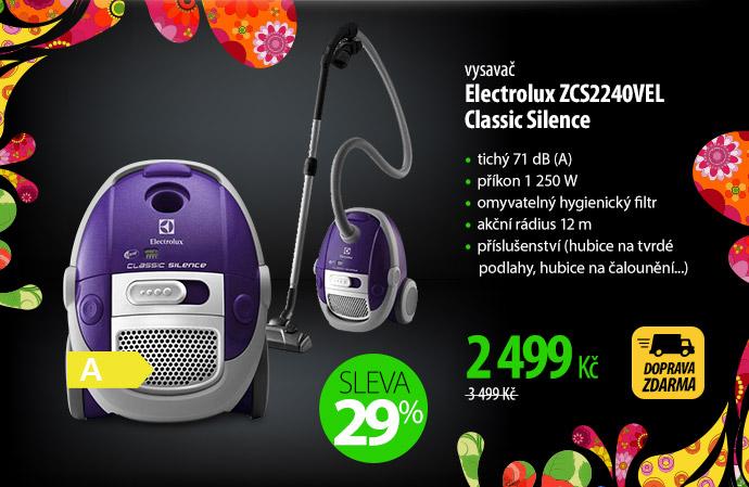 Vysavač Electrolux ZCS2240VEL Classic Silence