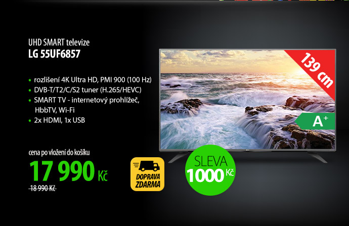 UHD Smart TV LG 55UF6857