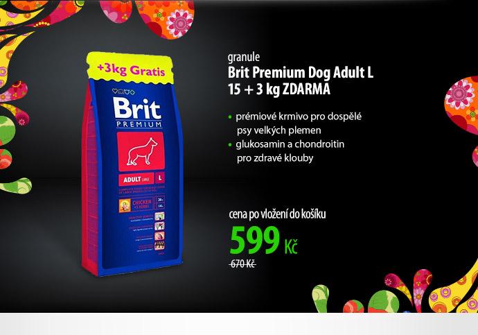 Granule Brit Premium Dog Adult