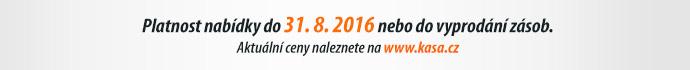 Platnost nabídky do 31. 8. 2016 nebo do vyprodání zásob.