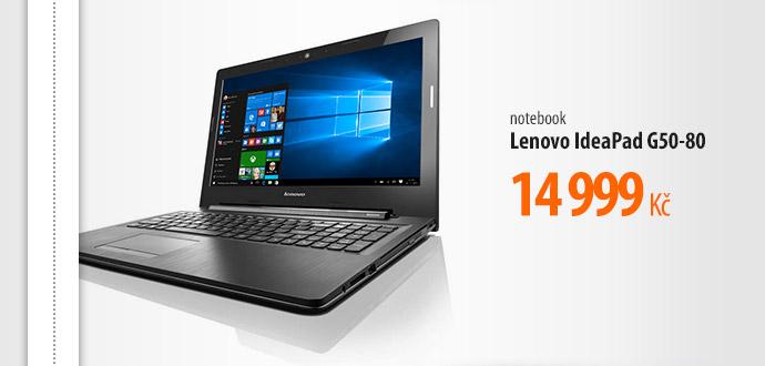 Notebook Lenovo IdeaPad G50-80