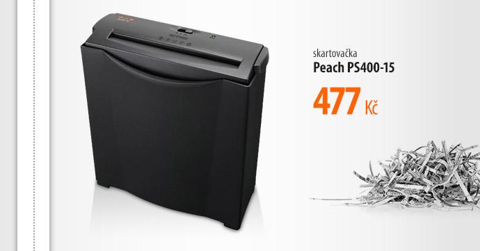 Skartovačka Peach PS400-15