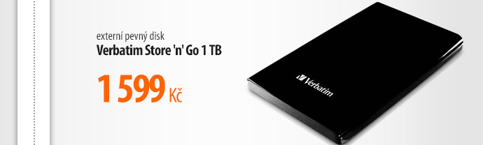 Externí pevný disk Verbatim Store 'n' Go 1 TB