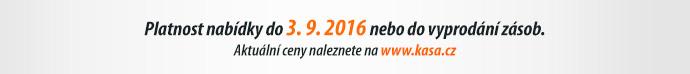 Platnost nabídky do 3. 9. 2016 neb do vyprodání zásob.