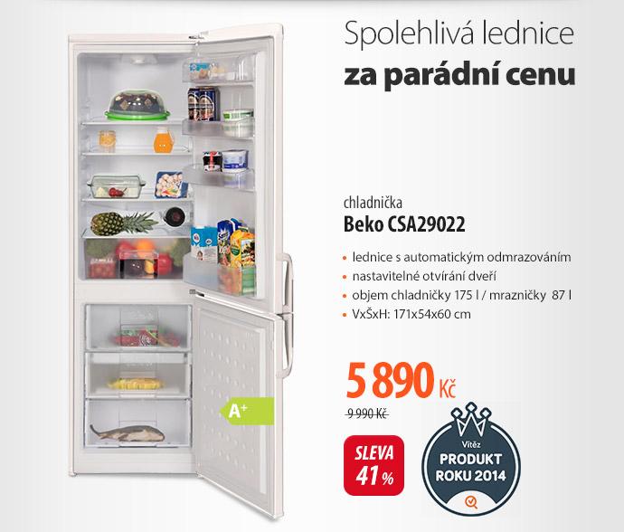 chladnička Beko CSA29022