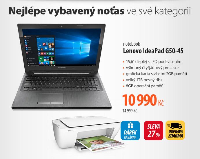 Notebook Lenovo IdeaPad G50-45