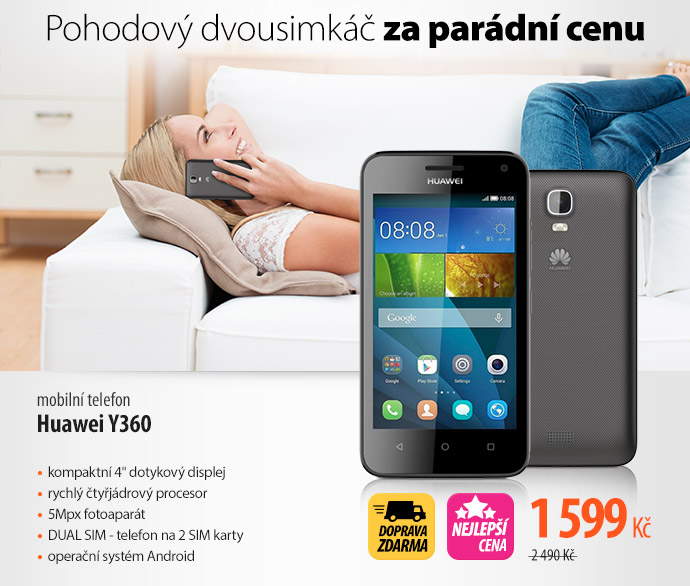 Mobilní telefon Huawei Y360