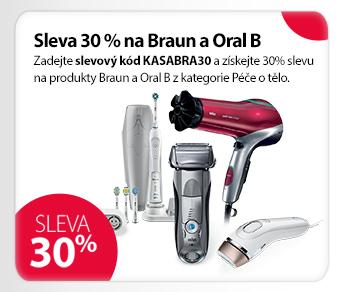 Přístroje Braun a Oral B