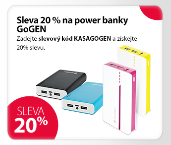 Power banky GoGen