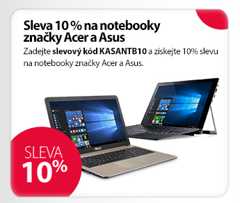 Notebooky Acer a Asus
