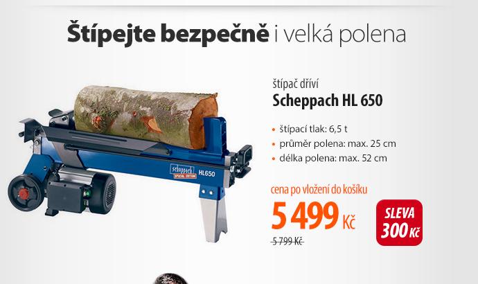 Štípač dříví Scheppach HL 650