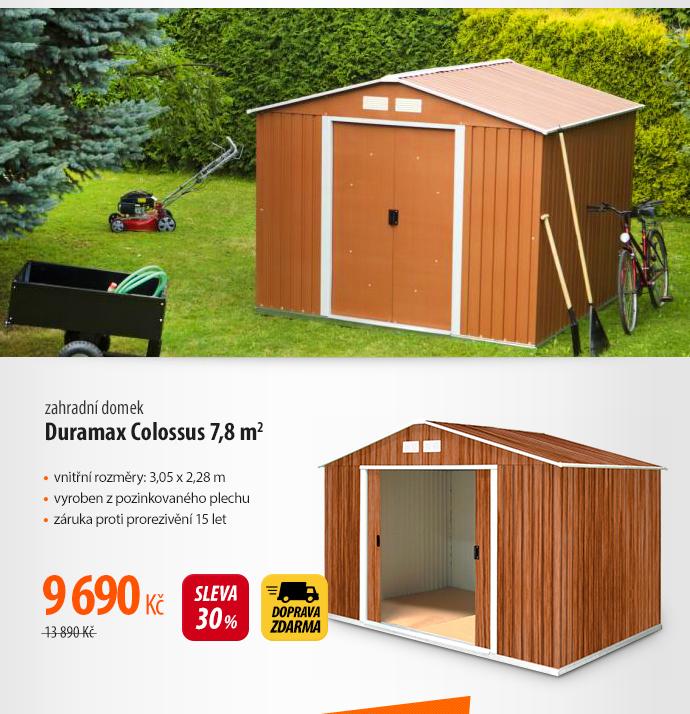 Zahradní domek Duramax Colossus 7,8 m2