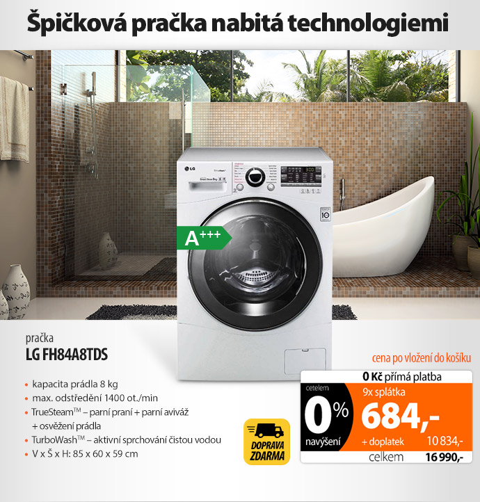Pračka LG FH84A8TDS